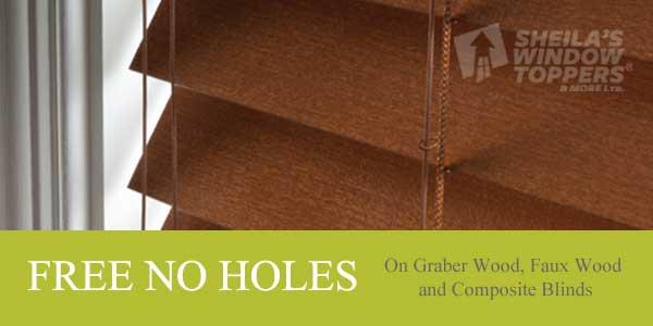 Free Upgrade on Wood Blinds Sale Calgary
