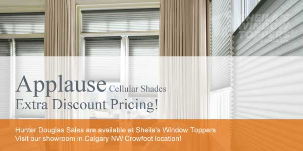 Hunter Douglas Sale Calgary NW Blinds Promotion Shades