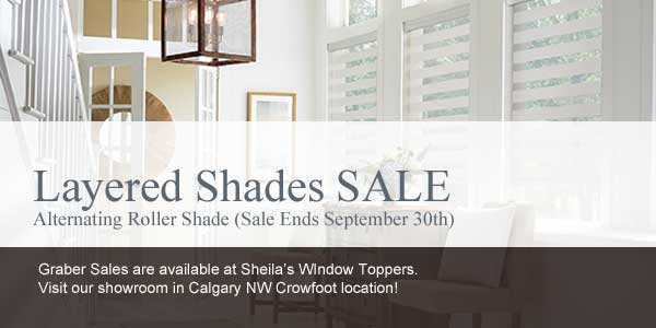 Free Upgrade on Blinds Sale Calgary