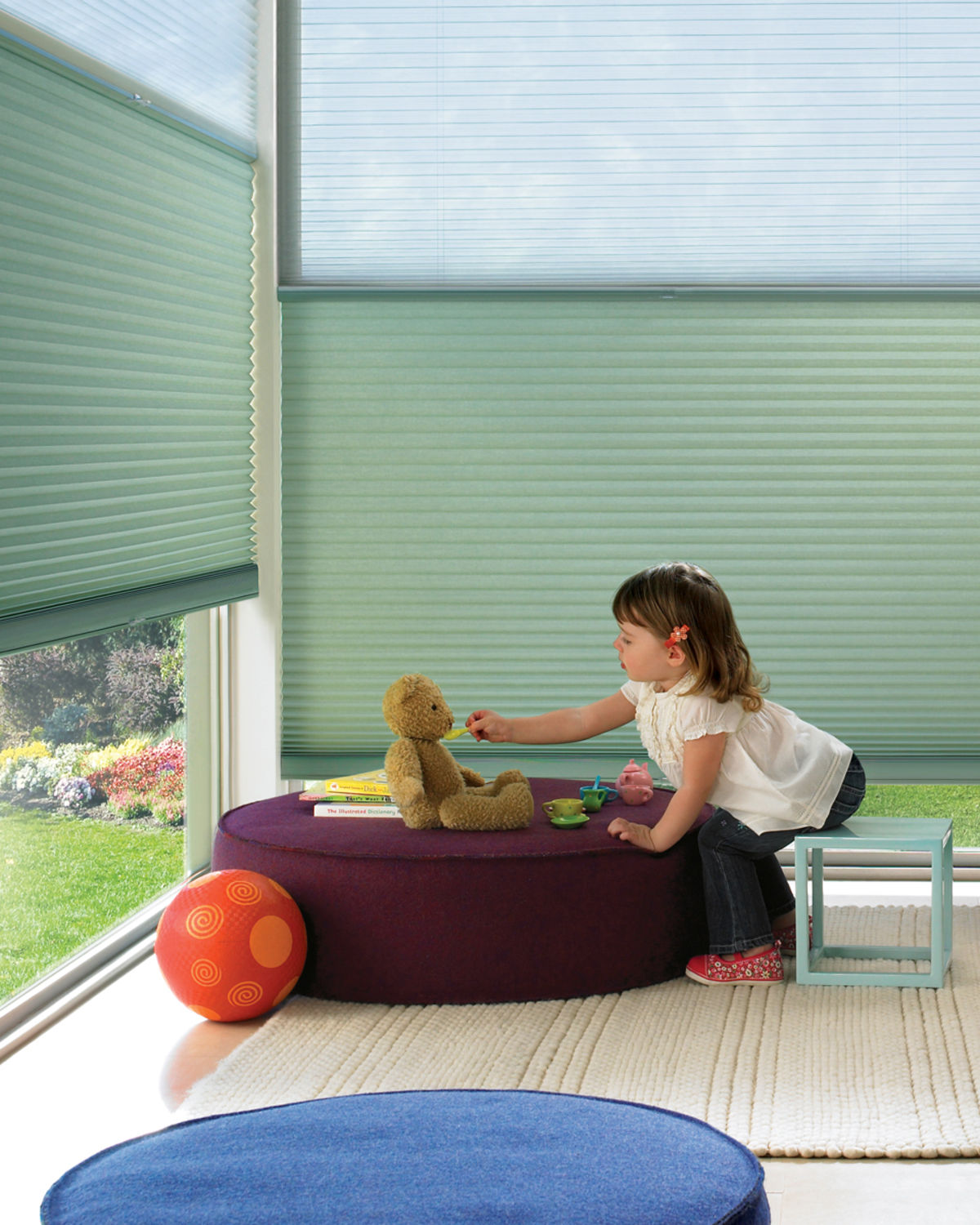 Child Safe Hunter Douglas Shades