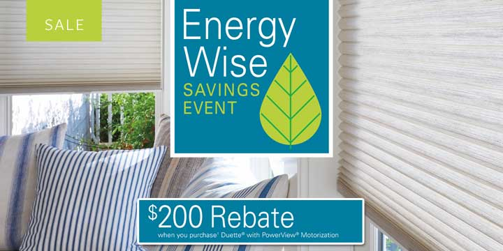 Hunter Douglas Energy Rebate Alberta Calgary