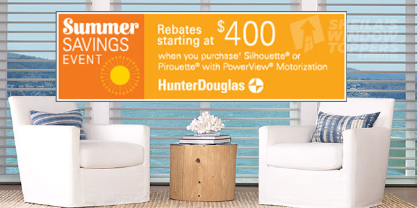 Hunter Douglas Summer Sales Event