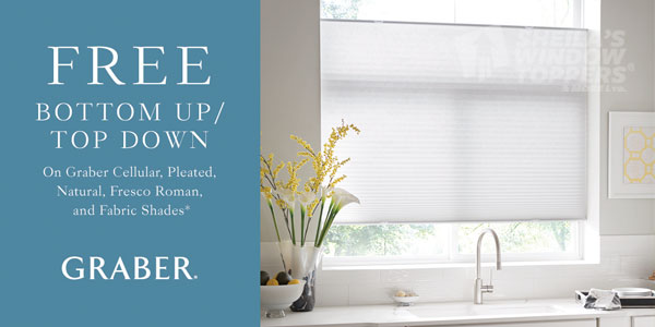 Free Top Down Bottom Up Graber Shades Upgrade
