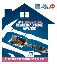 Calgary Readers Choice Award 2018