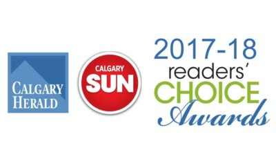 Readers Choice Award Calgary 2018