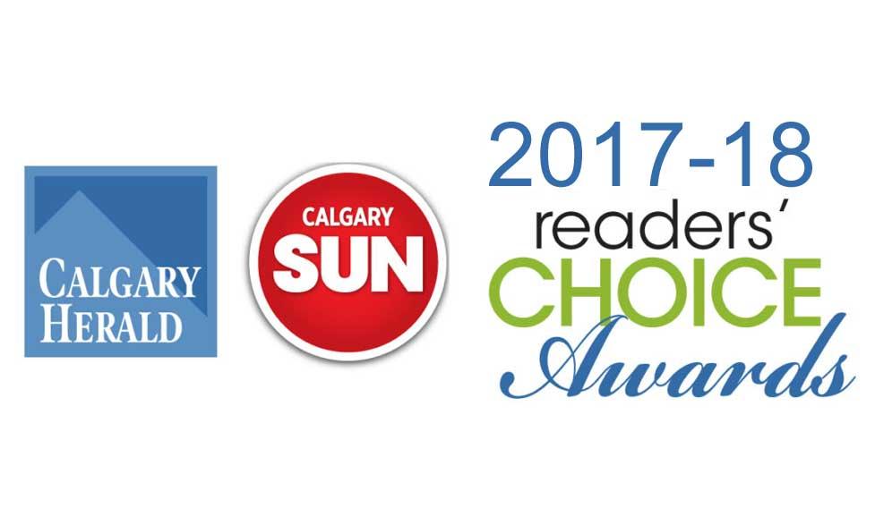 Readers Choice Award Calgary 2018