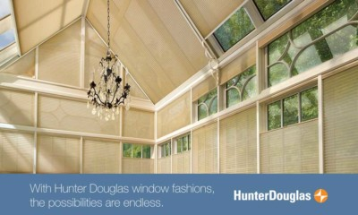 Hunter Douglas Skylight Blinds for Calgary Hot Summers