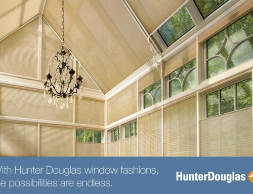 Hunter Douglas Skylight Shades – Summer Solution to Cool Down Your Home