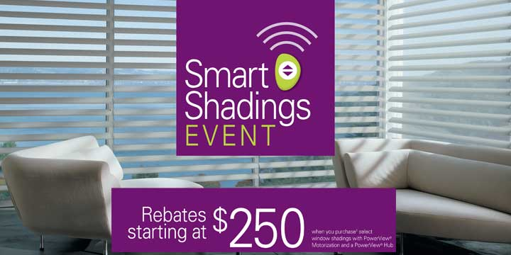 Hunter Douglas Rebate on Shades