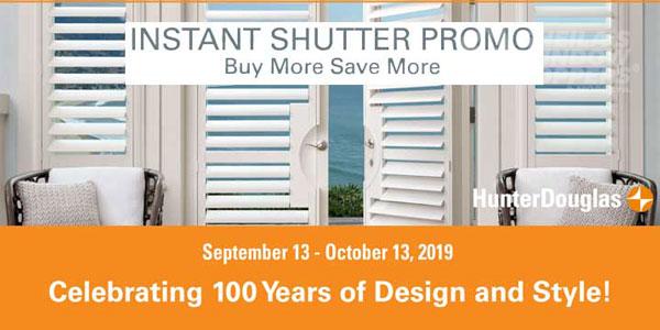 Hunter Douglas Palm Beach Shutter Sale
