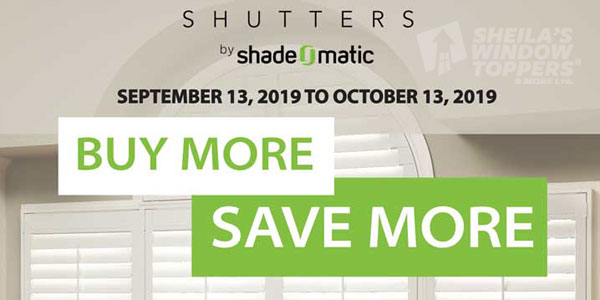 Shutter and Blinds Sale