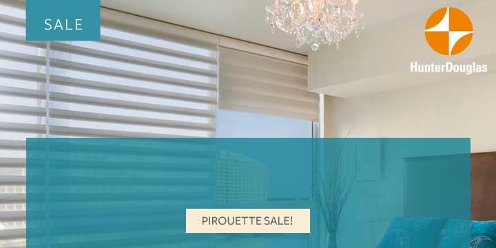 Pirouette Sale Hunter Douglas Calgary